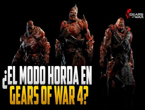 Gears of War 4 modo Horda 3.0